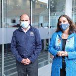 Reunión del defensor del Pueblo, Carlos Camargo con la CIDH de visita en Colombia