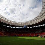 Estadio Mané Garrincha, en Brasilia. REUTERS/Adriano Machado
