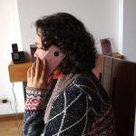Llamando por celular