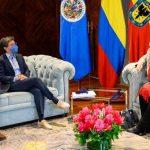 Claudia López se reunió con integrantes de la CIDH
