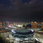 El Allegiant Stadium en Las Vegas, donde se disputará la final de la Copa Oro de la Concacaf. Las Vegas, Nevada,Foto USA TODAY/Kirby Lee