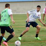 Entrenamiento de la Selección Colombia previo al partido con Venezuela en la Copa América 2021