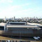 Estadio Arena Pantanal de Cuiabá, donde se medirán por la Copa América 2021 Bolivia y Chile. REUTERS/Carla Carniel