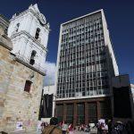 Vista general del edificio del Banco Central colombiano en Bogotá. REUTERS/Luisa González