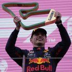 El piloto de Red Bull Max Verstappen celebrando tras ganar el Gran Premio de Estiria de la F1.   Jun 27, 2021  Pool via REUTERS/Darko Vojinovic