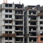 Trabajadores construyen un edificio de apartamentos en Bogotá,. REUTERS/Jaime Saldarriaga