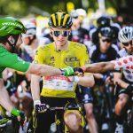 Mark Cavendish, la etapa trece del tour, Tadej Pogacar líder de carrera y Nairo Quintana líder de la Montaña.A.S.O. / Pauline Ballet / Charly Lopez