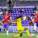 Costa Rica golea 3-1 Guadalupe