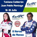 Tatiana Calderón- Juan Pablo Montoya y sus equipos han trabajado con miras a un buen resultado el fin de semana en Monza