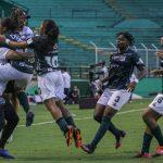 Deportivo Cali y América de Cali en partido por la fecha 2 como parte de la Liga Femenina BetPlay DIMAYOR 2021 jugado en el estadio Deportivo Cali de la ciudad de Palmira.Foto: VizzorImage / Samir Rojas / Cont