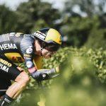 Wout van Aert ha sido el ganador de la segunda contrarreloj del Tour de Francia, con final en Saint-Émilion