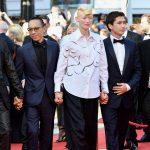 Elecnco de la película memoria en la alfombra roja del Festival de Cine de Cannes