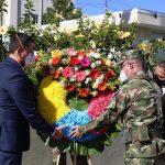 Durante la ceremonia del 20 de julio en Caldas se presentó una ofrenda floral y se ondeó la bandera de Colombia a la par que sonaban los himnos del país y el departamento.