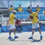 Juan Sebastián Cabal y Robert Farah, ganan su primer partido en Tokyo 2020