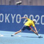 Daniel Galán Riveros se despidió de los Juegos Olímpicos de Tokio 2020 luego de ser eliminado en la fase de octavos del torneo de sencillos por el alemán Alexander Zverev,