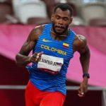 Anthony Zambrano clasificó a la final olímpica de 400 metros planos