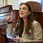 Ministra de las TIC, Karen Abudinen .
