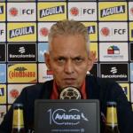 Reinaldo Rueda habla con la prensa en la antesala del partido con Chile