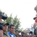 El Jefe de Estado durante el lanzamiento del Plan Navidad 2014 cumplido este lunes en Bogotá