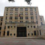 Sede del Ministerio de Hacienda de Colombia en Bogotá, . REUTERS/Luisa González