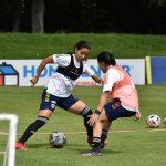 Entrenamiento de la Selección Colombia Femenina de Mayores