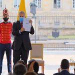 El presidente Iván Duque sancionó la reforma de Inversión Social, aprobada la semana pasada por el Congreso