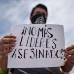 Lideres defensores de derechos humanos en Colombia