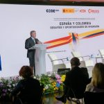 Presidente Duque en el foro internacional de Madrid