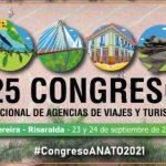 Logo Congreso Nacional de Agencias de Viajes y Turismo de ANATO