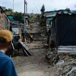 Colombia tiene una de las poblaciones más grandes de desplazados internos en el mundo como consecuencia de los continuos conflictos. Actualmente hay 450 familias ubicadas en este sector con insuficiencia para atender las necesidades de las familias desplazadas que sufren de desnutrición. Foto Lina Gasca M - AA