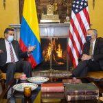 Colombia Y Estados Unidos anuncian nueva estrategia para frenar el tráfico de drogas Foto Cancillería Colombia