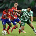Nacional y pasto empataron 1-1.Foto Dimayor