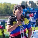 Sara López, campeona mundial de tiro con arco compuesto