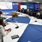"""""""Estamos promoviendo una Colombia más segura, más sostenible y más próspera, ahora y en el futuro"""", dijo el Embajador Goldberg. Foto Oficina de prensa  de la Embajada Americana en Colombia"""