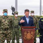 El ministro de Defensa, Diego Molano, confirmó junto a la Cúpula Militar y de Policía, la captura y posterior muerte de alias 'Fabián', asegurando que ha sido el golpe más fuerte al ELN en lo corrido de este Gobierno.