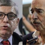 Expresidentes César Gaviria y Andrés Pastrana
