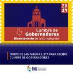 Cubre de Gobernadores en Norte de Santander
