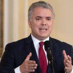 Iván Duque ,presidente de Colombia