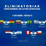 Fecha 11 de las Eliminatorias Sudamericanas