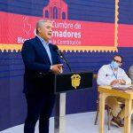 Presidente Iván Duque en la Cumbre de Gobernadores 2021