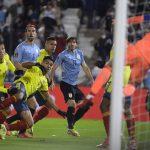 David Ospina salva a Colombia con excelentes jugadas frente a Uruguay .pool Agencias.  Foto: Dante Fernández / FocoUy