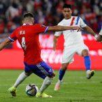 Mauricio Isla anota el 2-0 de Chile. Foto: Francisco Longa/AGENCIAUNO