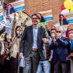 Alejandro Gaviria en campaña por la Presidencia de la República