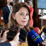 Vicepresidenta y canciller Marta Lucía Ramírez se refirió a las acusaciones del Gobierno de Venezuela