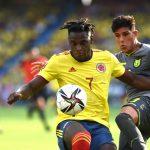 Colombia -ecuador por la fecha 12 de las Eliminatorias Suramericanas Qatar 2022