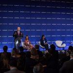 Presidente Duque en el conversatorio 'Colombia una plataforma de crecimiento' Toto Presidencia