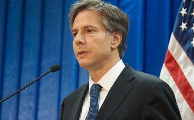 Antony Blinken, secretario de Estado de Estados Unidos. (Hakan Çopur - Agencia Anadolu)