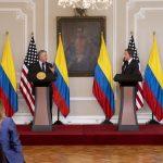 Declaración conjunta entre el presidente, Iván Duque, y el secretario de Estados Unidos, Antony Blinken .Foto Presidencia