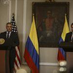 Presidente, Iván Duque, y el secretario de Estados Unidos, Antony Blinken .