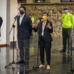La alcaldesa de Bogotá, informa sobre la captura de la narco-banda Camilo Cortesía Alcaldía de Bogotá